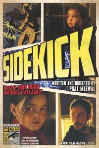 Sidekick is screening at Comic Con!